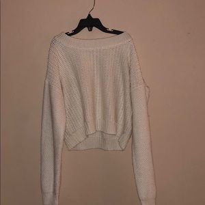 Crop Sweater (Cream)